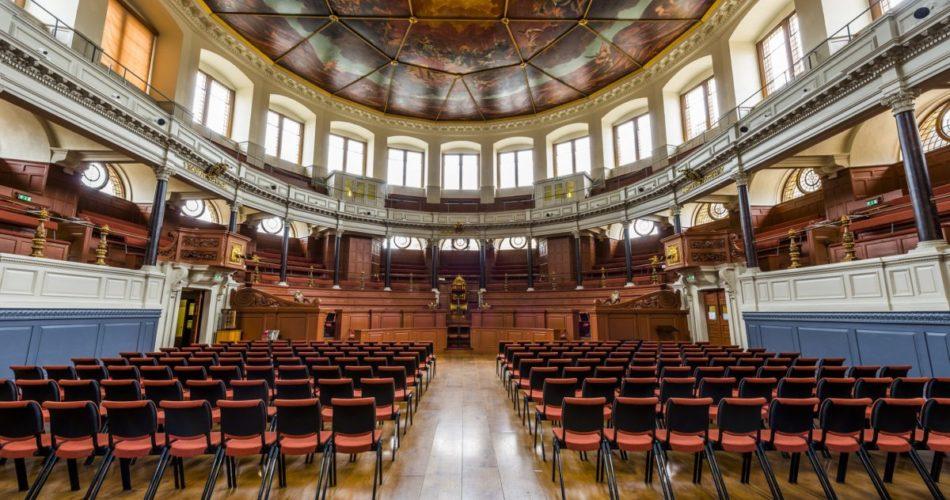 Sheldonian meeting venue Oxford