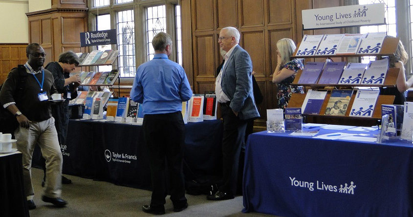 Event exhibition at The Examination Schools venue, Oxford