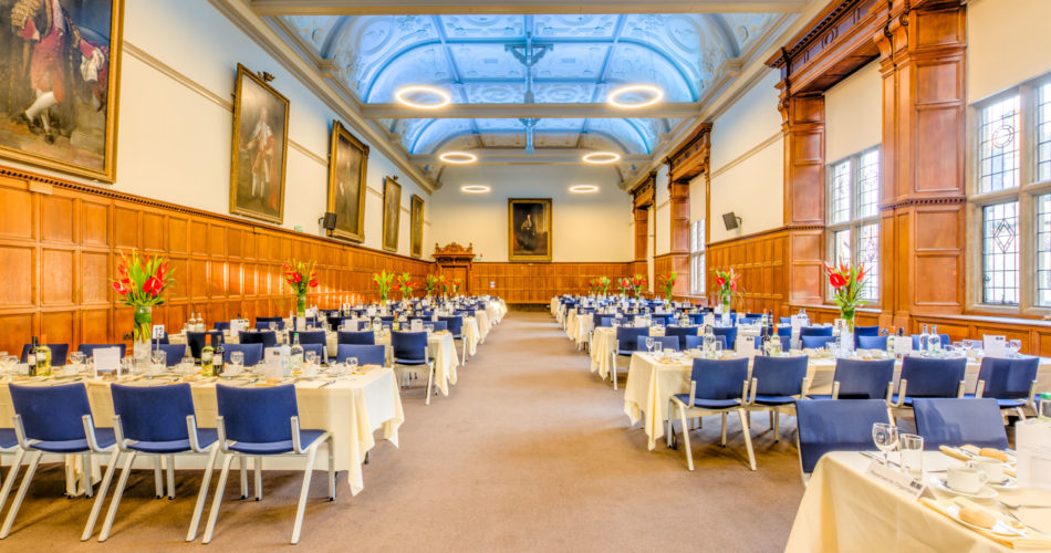 Examination Schools dinner venue Oxford room
