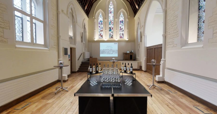 Drinks reception venue St Luke's Oxford