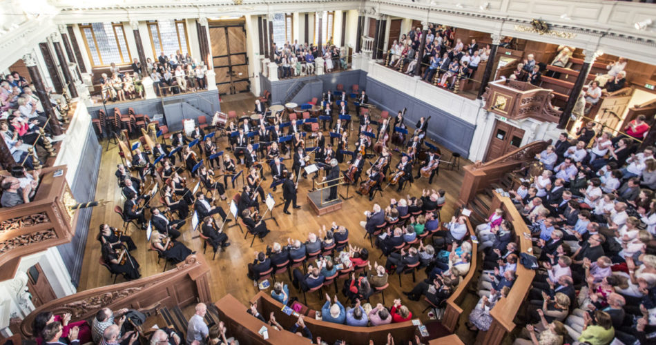 Oxford Philharmonic Orchestra in Sheldonian Theatre, Oxford