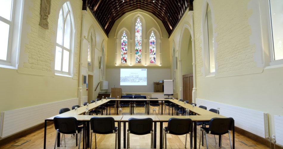 St Lukes venue Oxford boadroom