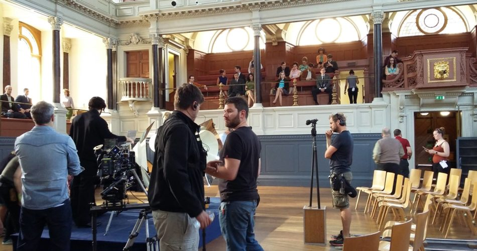 Sheldonian Theatre filming venue Oxford