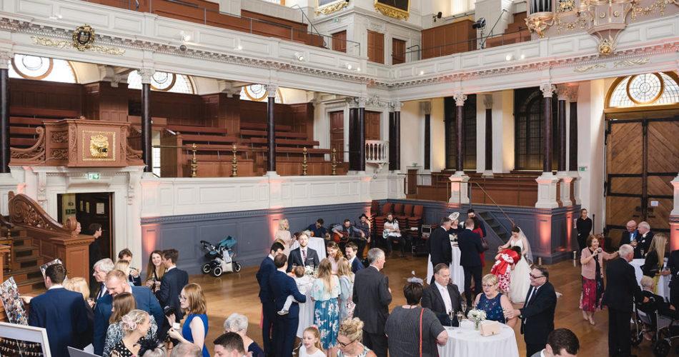 Sheldonian Theatre wedding reception venue