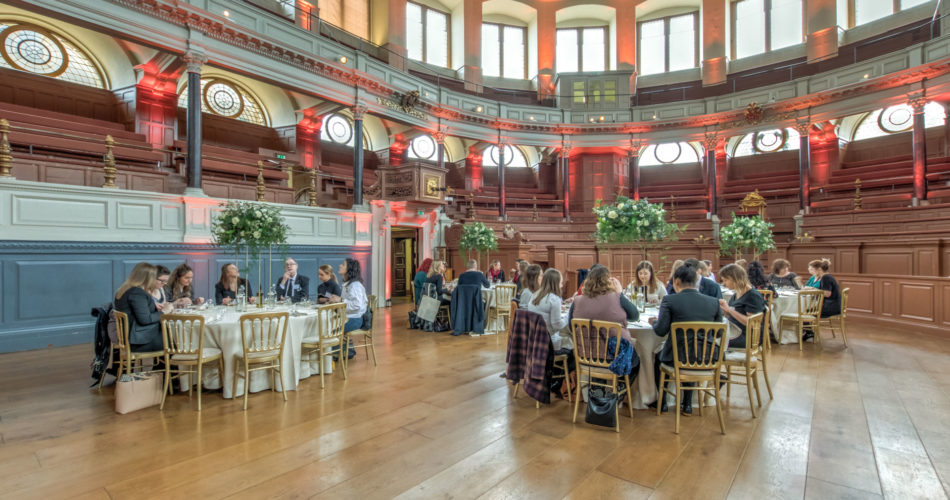 Sheldonian dinner venue Oxford
