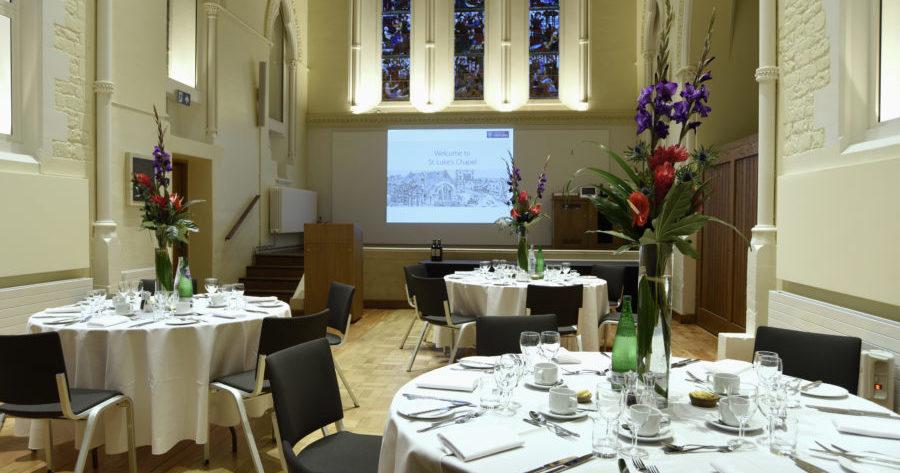 St Luke's dinner venue Oxford