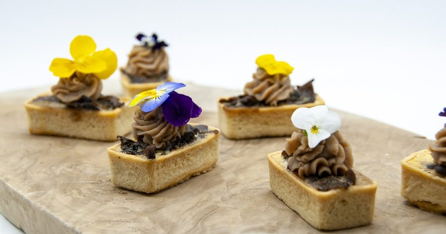 This is an illustrative example of our canapes